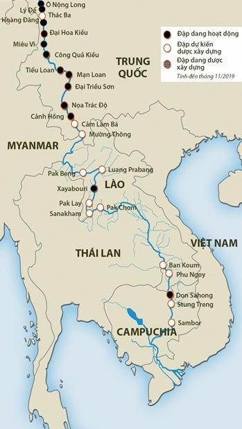 Trung Quốc bị tố 'bóp nghẹt' dòng Mekong - 2