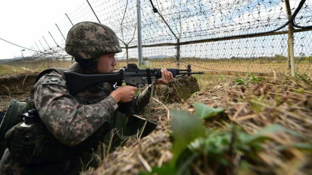 Nổ súng ở biên giới Hàn – Triều
