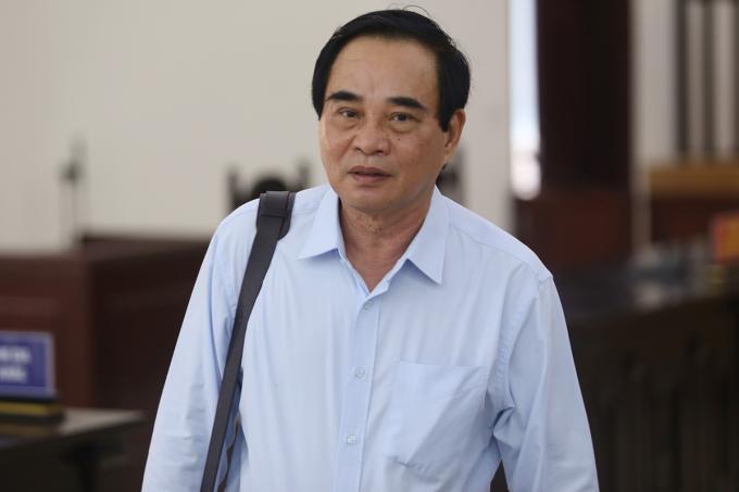 Cựu chủ tịch Văn Hữu Chiến. Ảnh: Phạm Dự.