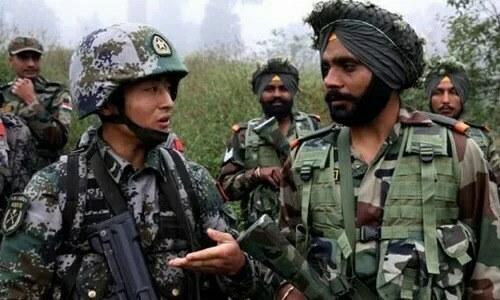 Lính Trung - Ấn ẩu đả ở biên giới - VnExpress