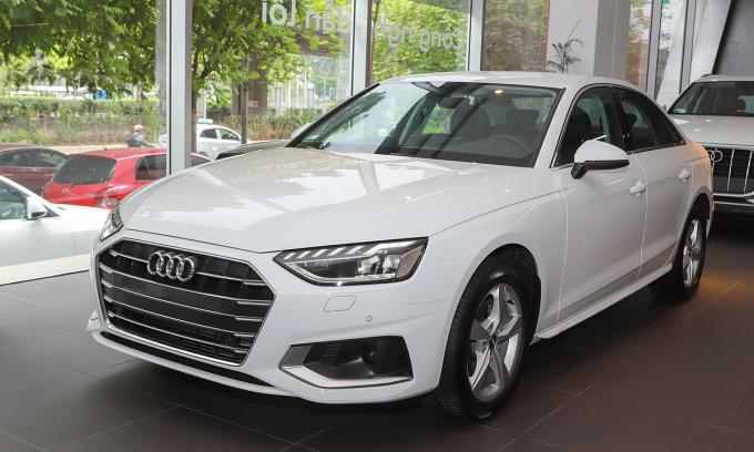 Audi A4 mới chào thị trường Việt Nam. Ảnh: Lương Dũng