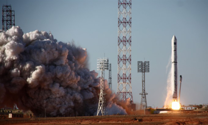 Russian missiles crumble in orbit