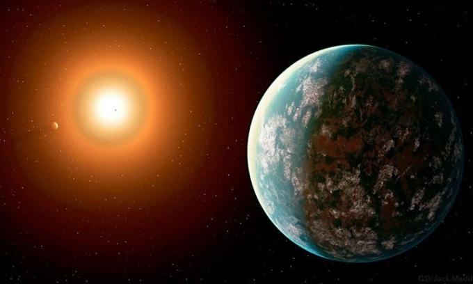 OGLE-2018-BLG-0677Lb là một trong những hành tinh xa nhất được phát hiện từ trước tới nay. Ảnh: IFL Science.