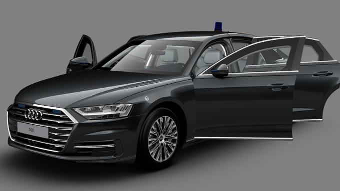 A8 L Security 2020 - phiên bản chống đạn. Ảnh: Audi