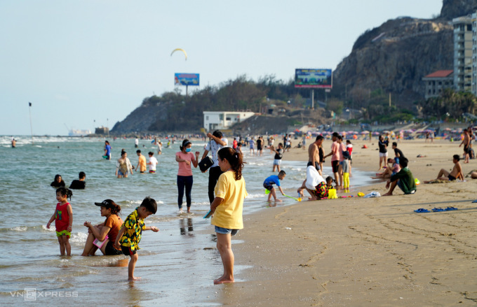 Sâu biển xuất hiện nhiều ở biển Vũng Tàu