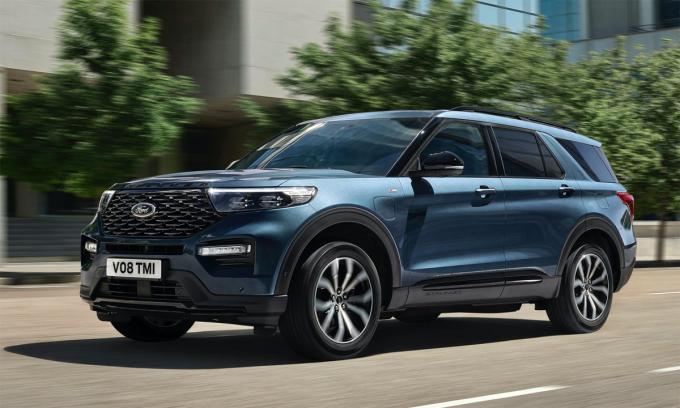 Explorer PHEV bắt đầu bán tại châu Âu, bắt đầu từ Đức với giá khởi điểm 82.000 USD. Ảnh: Ford