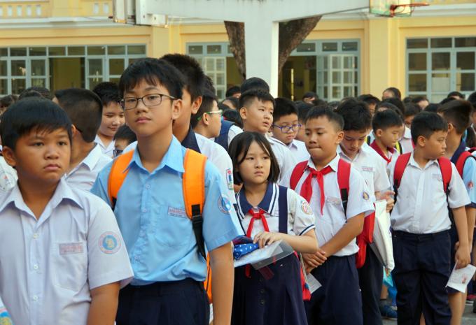 Trường chuyên Trần Đại Nghĩa tuyển 535 học sinh lớp 6