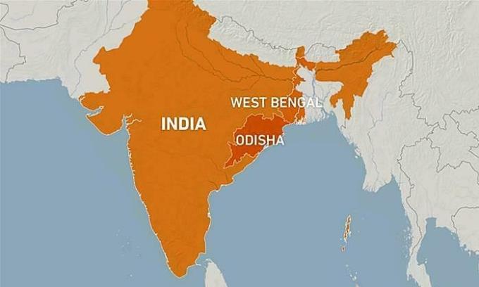 Ấn Độ sơ tán hơn một triệu dân tránh siêu bão