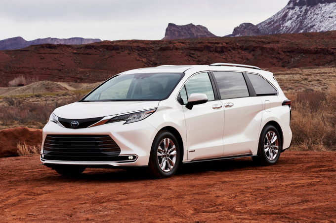 Toyota Sienna 2021. Ảnh: Toyota