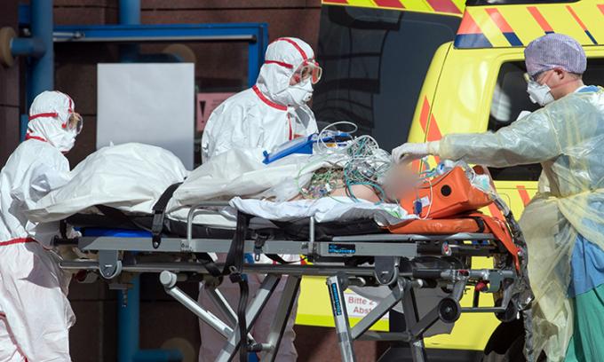 Người chết vì nCoV ở Đức vượt 8.000