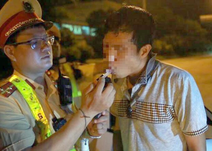 Tài xế vi phạm nồng độ cồn và ma túy