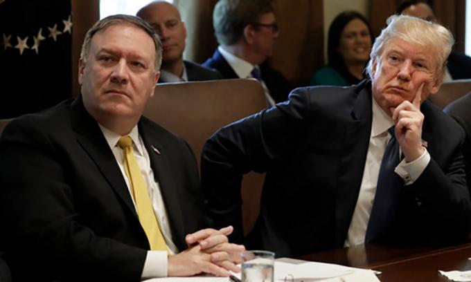 Trump sa thải Tổng thanh tra Ngoại giao theo ý Pompeo
