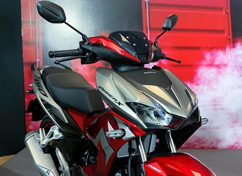 Honda Winner X trong lễ ra mắt tại Hà Nội. Ảnh: Đức Huy.