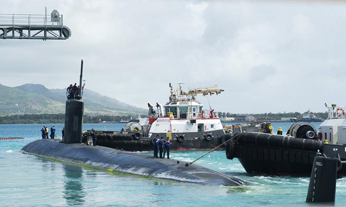 Mỹ tung hạm đội tàu ngầm tới Thái Bình Dương