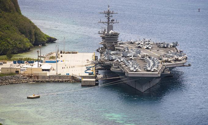 Tàu sân bay Mỹ sắp ra khơi sau hai tháng
