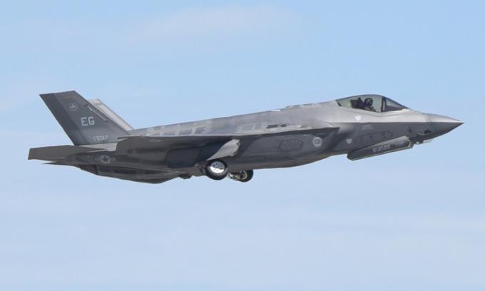 Tiêm kích tàng hình F-35 Mỹ rơi