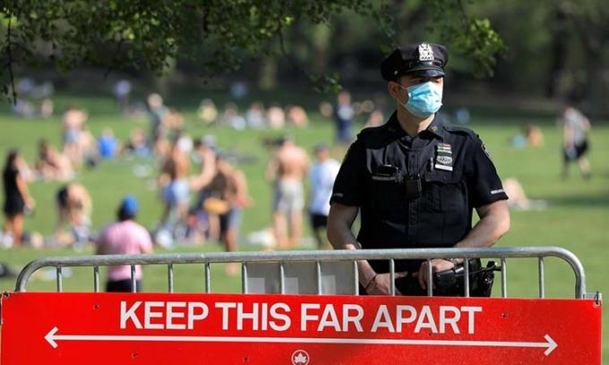 Gần 1,6 triệu ca nhiễm nCoV ở Mỹ