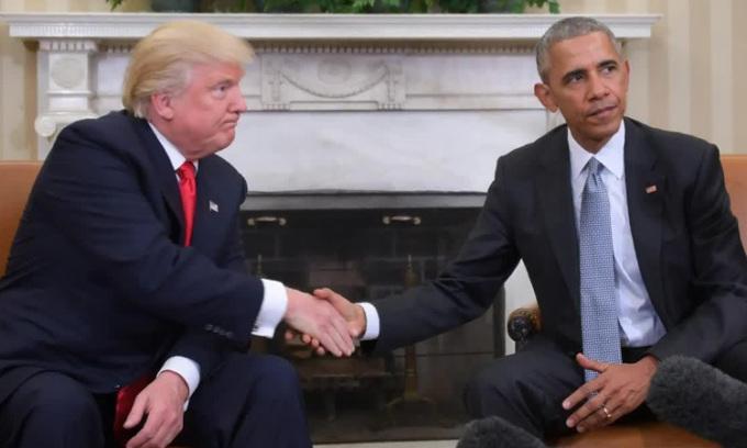 Trump có thể không cho trưng tranh Obama ở Nhà Trắng