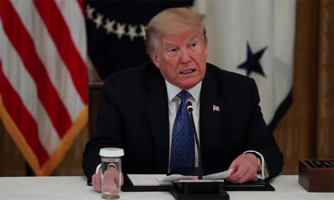 Trump đề nghị tổ chức G7 ở Trại David