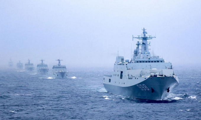 Mức tăng ngân sách quốc phòng Trung Quốc thấp nhất 10 năm