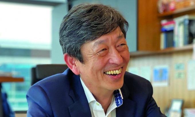 CEO Ted Ogawa trong buổi trò chuyện với trang Autonews hồi 9/3 tại Texas, Mỹ.