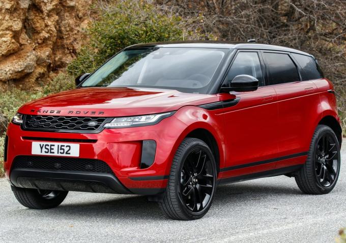 Range Rover Evoque phiên bản hiện hành. Ảnh: Land Rover