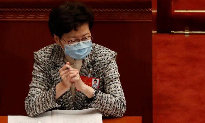 Lãnh đạo Hong Kong ủng hộ luật an ninh