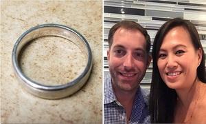 Tìm thấy nhẫn cưới nhờ nhà hàng nâng cấp