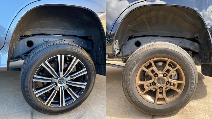 So sánh hệ thống treoToyota Land Cruiser và Lexus LX570 - 8