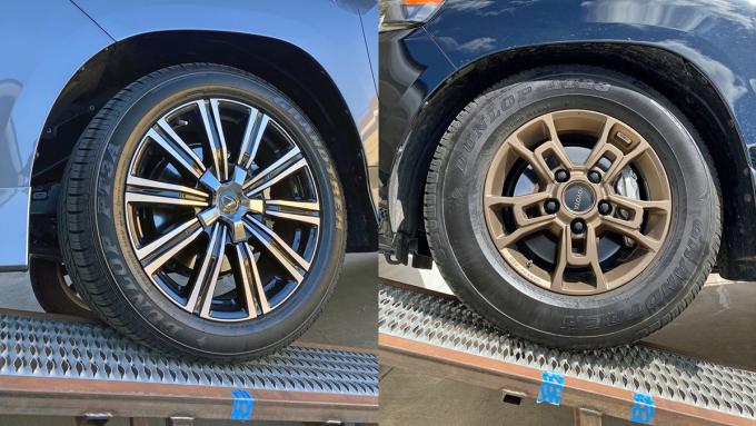 So sánh hệ thống treoToyota Land Cruiser và Lexus LX570 - 10