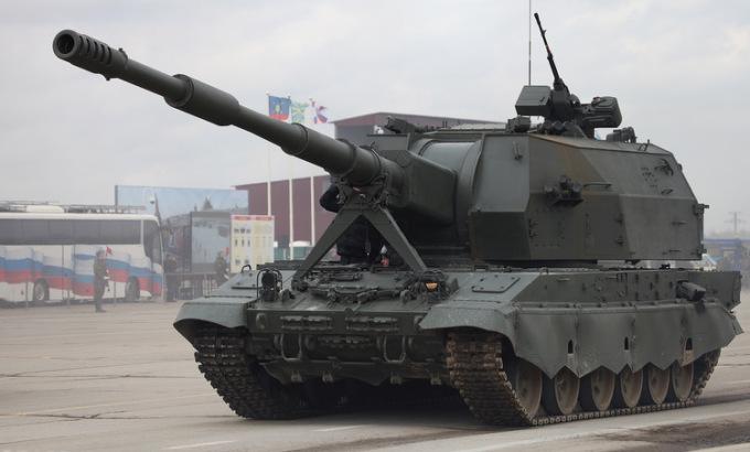 Quân đội Nga nhận pháo tự hành tối tân