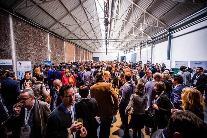 Người tham dự Tech Startup Day tại Thụy Sĩ. Ảnh: EggBrussel.