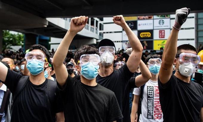 Trung Quốc nói nhiều cuộc biểu tình Hong Kong là