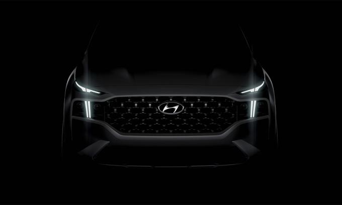Thiết kế mới của Santa Fe 2021. Ảnh: Hyundai