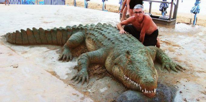 Những tác phẩm điêu khắc từ cát có thể bạnnhìnnhầm - 18