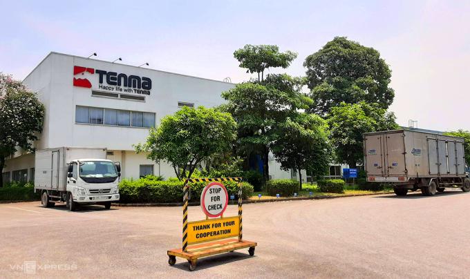 Trụ sở Công ty Tenma ở khu công nghệp Quế Võ, Bắc Ninh. Ảnh: Bá Đô