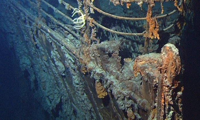 Kế hoạch trục vớt máy điện báo từ xác tàu Titanic