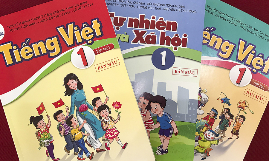 Hoàn thành lựa chọn sách giáo khoa lớp 1 mới