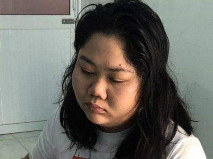 Nghi phạm Lâm Nguyễn Bích Thảo. Ảnh: Văn Hồ.
