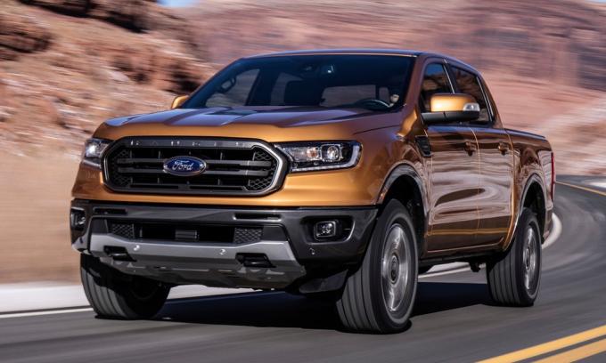 Ranger, mẫu bán tải còn đến 41,9% số xe đời 2019 trong kho. Ảnh: Ford