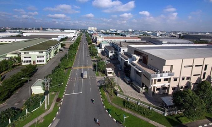 Một khu công nghiệp tại Bình Dương.