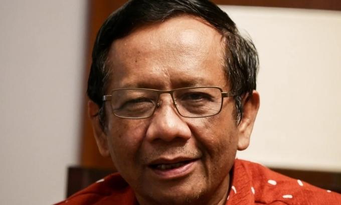 Bộ trưởng An ninhMohammad Mahfud. Ảnh: SCMP.