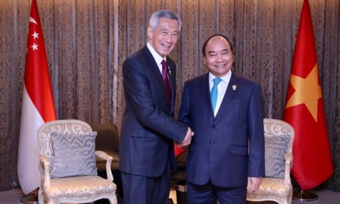 Thủ tướng Singapore chúc mừng Việt Nam kiểm soát được Covid-19