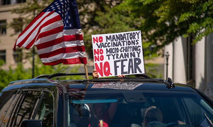 Phong trào bài vaccine đe dọa nỗ lực chống Covid-19