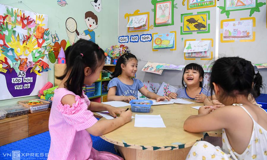 Hoạt động vui chơi, rèn thể chất cho trẻ mầm non, tiểu học