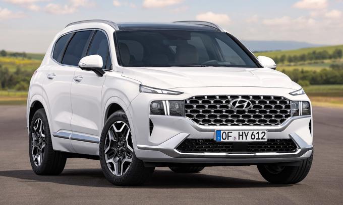 Hyundai giới thiệu Santa Fe phiên bản mới. Ảnh:Hyundai