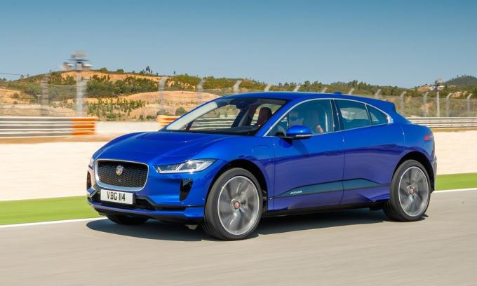 I-Pace - mẫu crossover chạy điện bán từ năm 2018. Ảnh: Jaguar