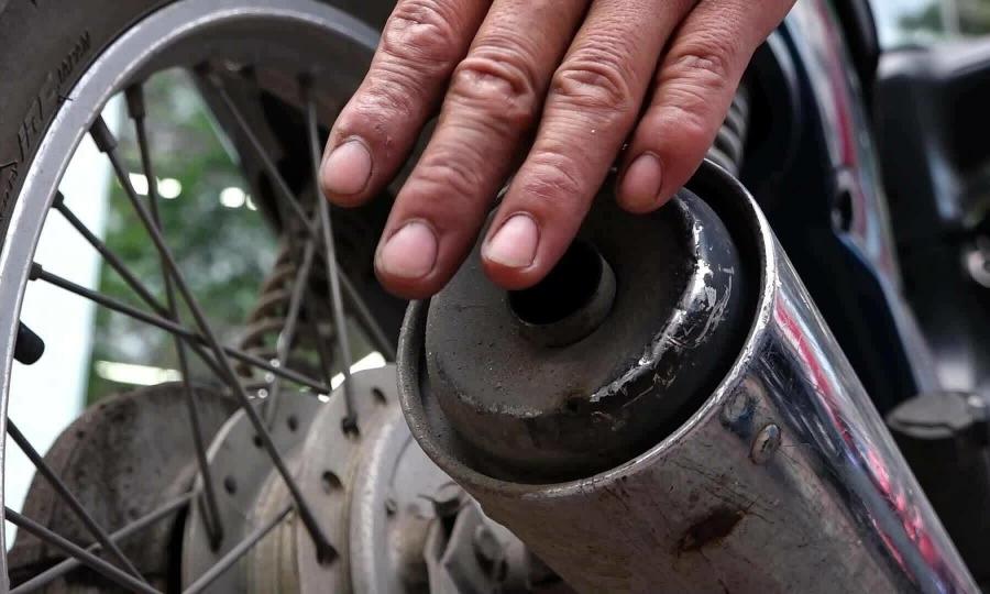Xe máy cũ nát nên làm gì nếu phải kiểm định khí thải