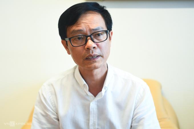 Ông Nguyễn Tiến Đà, Giám đốc Bảo tàng Hà Nội.