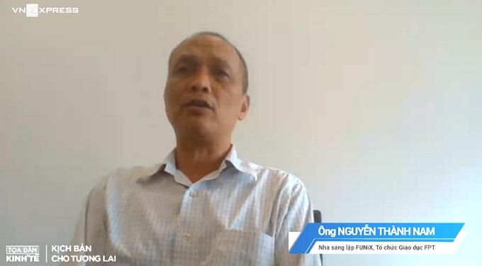 ÔngNguyễn Thành Nam - Nhà sáng lập FUNiX, một diễn giả trong chương trình.